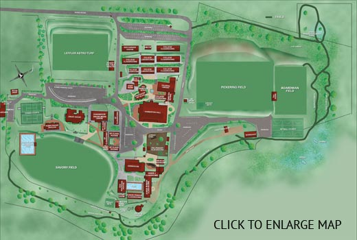 Small Thomas More College campus map